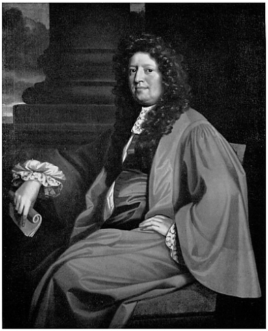 Robert Plot, D.C.L., F.R.S. (1640–96), first Keeper of the Ashmolean Museum and Professor of Chemistry. By an unknown artist. Bodleian Library; on loan to the Museum of the History of Science, Oxford