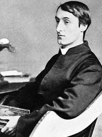 Gerard Manley Hopkins (28 July 1844 – 8 June 1889); Public domain via Wikimedia Commons