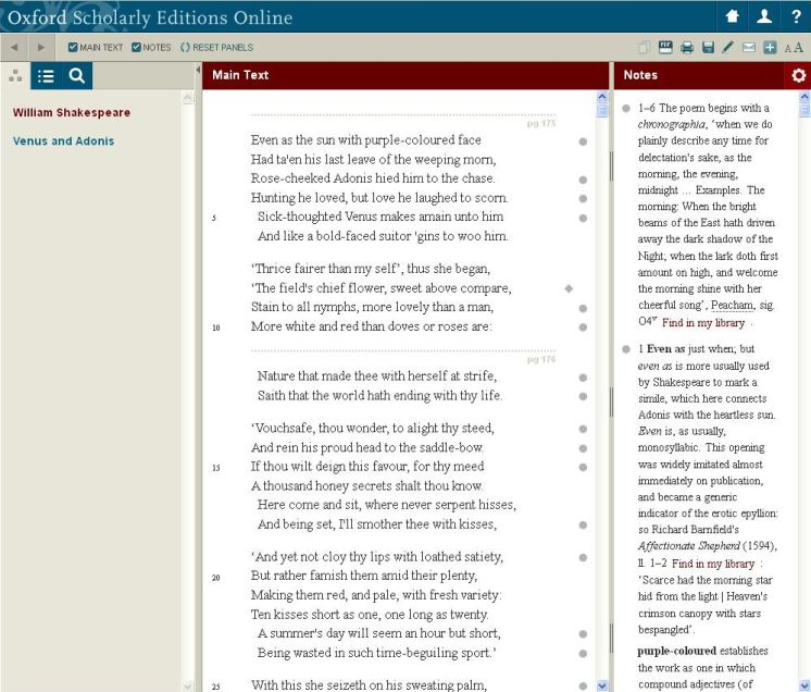 Work Page - Oxford Scholarly Editions
