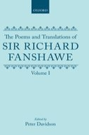 The Poems and Translations of Sir Richard Fanshawe, Vol. 1