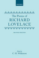 The Poems of Richard Lovelace (Second Edition)