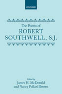 The Poems of Robert Southwell, S.J.