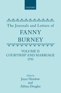 The Journals and Letters of Fanny Burney (Madame d'Arblay), Vol. 2: Courtship and Marriage 1793: Letters 40–121Letters 40–121