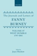 The Journals and Letters of Fanny Burney (Madame d'Arblay), Vol. 4: West Humble 1797–1801: Letters 251–422Letters 251–422