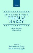 The Collected Letters of Thomas Hardy, Vol. 1: 1840–1892