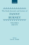 The Early Journals and Letters of Fanny Burney, Vol. 1: 1768–17731768–1773