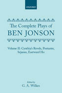 The Complete Plays of Ben Jonson, Vol. 2
