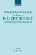 The Poems of Robert Sidney