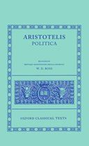 Oxford Classical Texts: Aristotelis: Politica