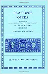 Oxford Classical Texts: Platonis Opera, Vol. 2: Tetralogiae III–IV