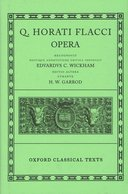 Oxford Classical Texts: Q. Horati Flacci: Opera