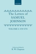 The Letters of Samuel Johnson, with Mrs. Thrale's genuine letters to him, Vol. 1: 1719-1774; Letters 1-3691719-1774; Letters 1-369