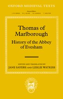 Oxford Medieval Texts: Thomas of Marlborough: History of the Abbey of Evesham