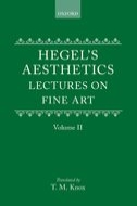 Aesthetics: Lectures on Fine Art, Vol. 2Lectures on Fine Art