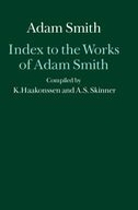 The Glasgow Edition of the Works and Correspondence of Adam Smith: Index to the Works of Adam Smith