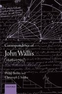 Correspondence of John Wallis (1616–1703), Vol. 3: October 1668–1671