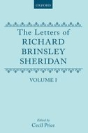 The Letters of Richard Brinsley Sheridan, Vol. 1