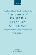 The Letters of Richard Brinsley Sheridan, Vol. 2