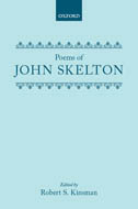 Clarendon Medieval and Tudor Series: John Skelton: Poems
