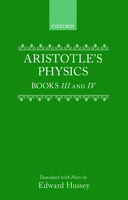 Clarendon Aristotle Series: Physics: Books III and IVBooks III and IV