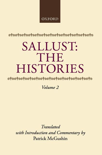 Sallust: The Histories, Vol. 2