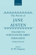 The Novels of Jane Austen, Vol. 5: Northanger Abbey and Persuasion (Third Revised Edition)