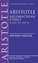 Clarendon Aristotle Series: Nicomachean Ethics: Books VIII and IXBooks VIII and IX