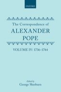 The Correspondence of Alexander Pope, Vol. 4: 1736–1744