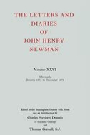 The Letters and Diaries of John Henry Newman, Vol. 26: Aftermaths: January 1872 to December 1873January 1872 to December 1873