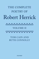 The Complete Poetry of Robert Herrick, Vol. 2