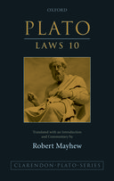 Clarendon Plato Series: Laws 10