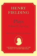 The Wesleyan Edition of the Works of Henry Fielding: The Plays, Vol. 2: 1731–17341731–1734