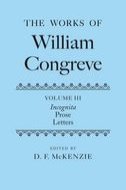 The Works of William Congreve, Vol. 3