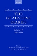 The Gladstone Diaries, Vol. 4: 1848–18541848–1854