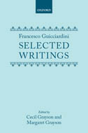 Francesco Guicciardini: Selected Writings