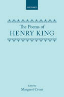 The Poems of Henry King