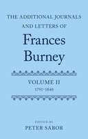 The Additional Journals and Letters of Frances Burney, Vol. 2: 1791–1840