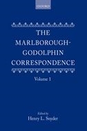 The Marlborough–Godolphin Correspondence, Vol. 1