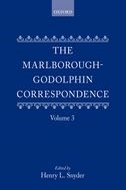 The Marlborough–Godolphin Correspondence, Vol. 3