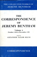 The Collected Works of Jeremy Bentham: The Correspondence of Jeremy Bentham, Vol. 4: October 1788 to December 1793October 1788 to December 1793