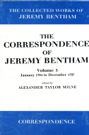 The Collected Works of Jeremy Bentham: The Correspondence of Jeremy Bentham, Vol. 5: January 1794 to December 1797January 1794 to December 1797