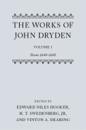 The Works of John Dryden, Vol. 1: Poems 1649–1680